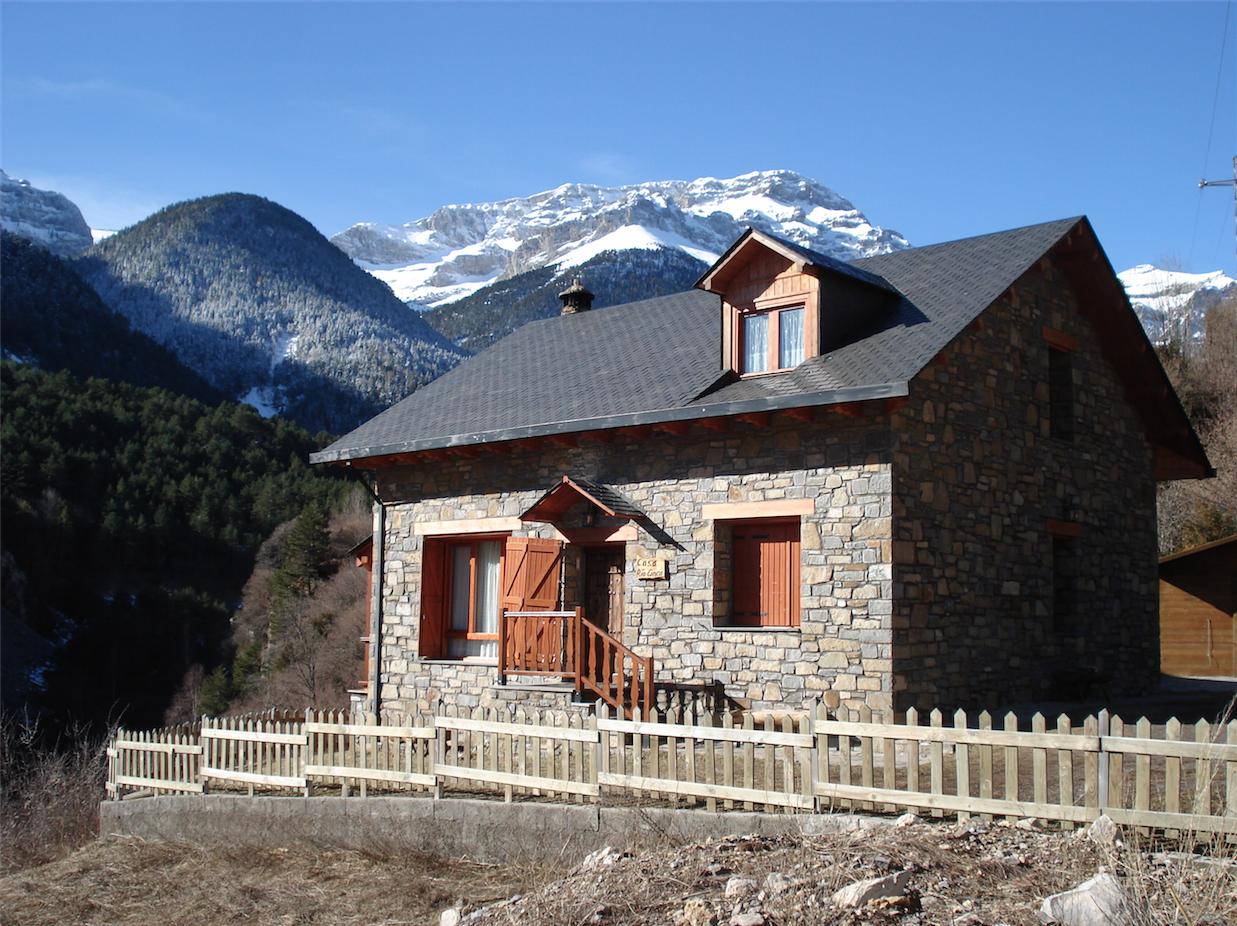 La casa casa rio cinca - Casas del pirineo ...